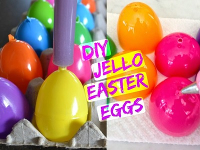 DIY Jello Easter Eggs | Gabriela Toledo