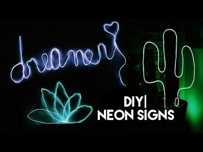 DIY| Neon Sign [3 Styles]