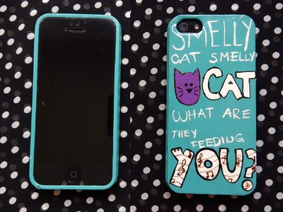 DIY Smelly Cat CellPhone Case |Phoebe Buffay Inspired