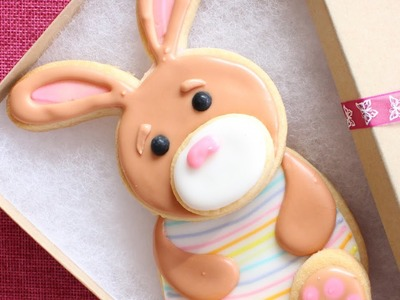 Easter Cookies - How to make Easter Bunny Cookie Set