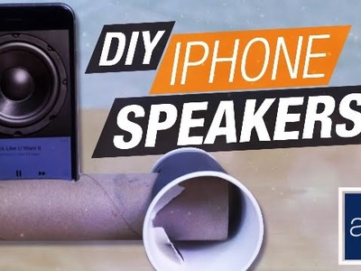Hack: DIY iPhone Speakers   Basics