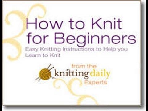 How do you start knitting (2016) | Knitting for beginners