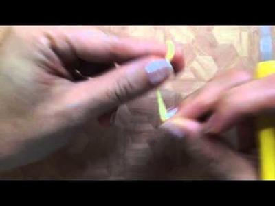 How to crochet Gudetama's arms