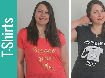 How to Design Trendy T-shirts with Cricut