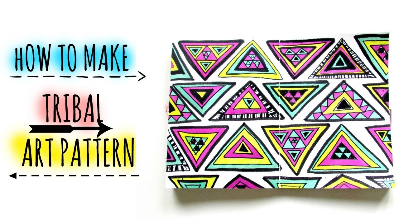 How to Draw. TRIBAL ART. Patterns