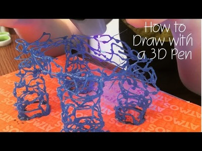 How to Draw with an AtmosFlare 3D Pen