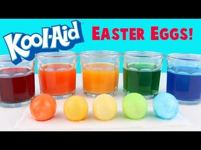 How to Dye Easter Eggs with KOOL AID! Super Easy DIY Tutorial