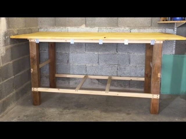 How to make a cheap, quick and simple workbench