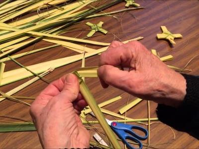 How to make  a  Palm Cross tutorial