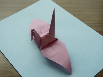 How to Make a Paper Crane - Easy Origami for beginners using printer paper!
