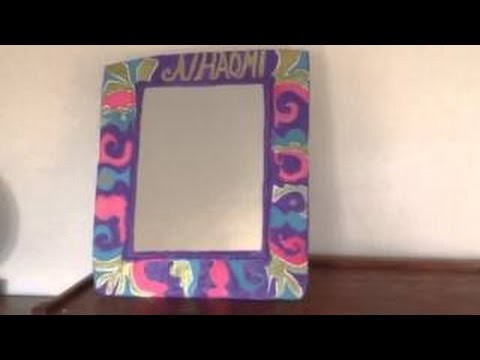 How To Make A Paper Mache Mirror