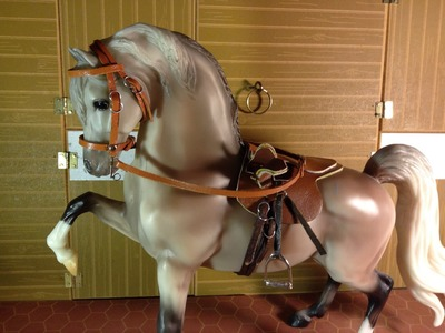 How to make a simple side saddle Breyer scale