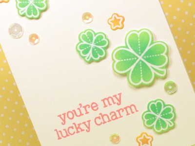 How to make a St. Patrick's Day card!