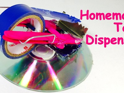 How to Make a TAPE DISPENSER at Home