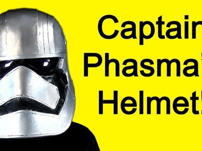How to Make Captain Phasma Helmet
