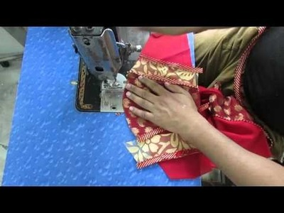 How to make Fashionable designer blouse U part 2 of 2