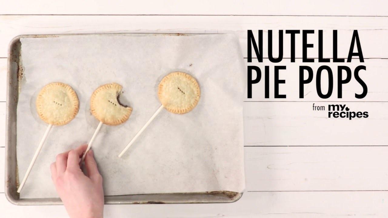 How to Make Nutella Pie Pops | MyRecipes