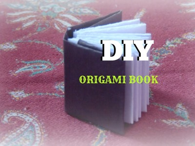 How to make origami book- easy & simple paper crafts