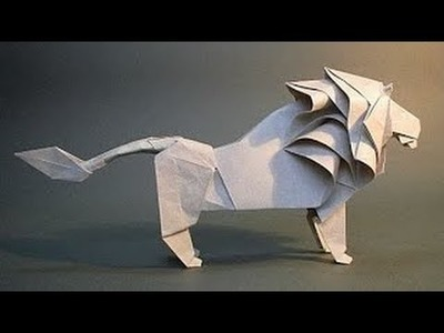 How to make paper lion