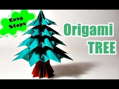 How to Make Paper Tree | Creative Origami Art Work | Easy Crafting Steps