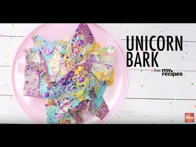 How to Make Unicorn Bark | MyRecipes