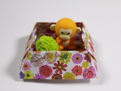 How to Origami Box : Snack Box