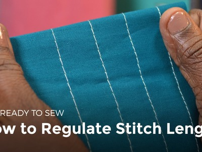 How to Regulate Stitch Length