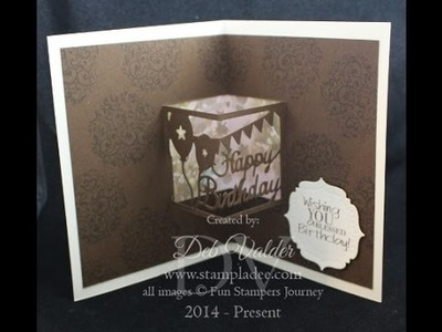 How to Use Window Plates for a Pop Up Card with Deb Valder