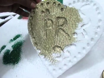 How to Write Letter By Thermocol and Wedding Decoration part 3 of 3