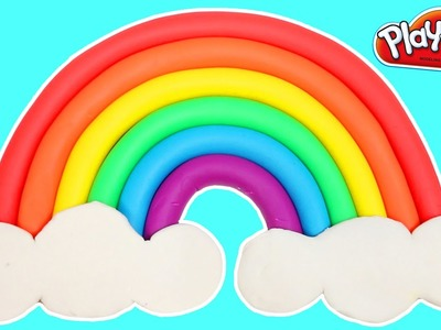 Learn Colors with a Play Doh Rainbow | How To Make Easy!