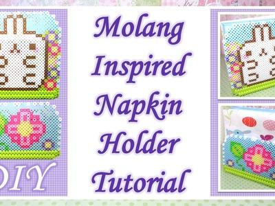 Molang Inspired Napkin Holder: Perler Beads DIY [Collab with Kati Rose]