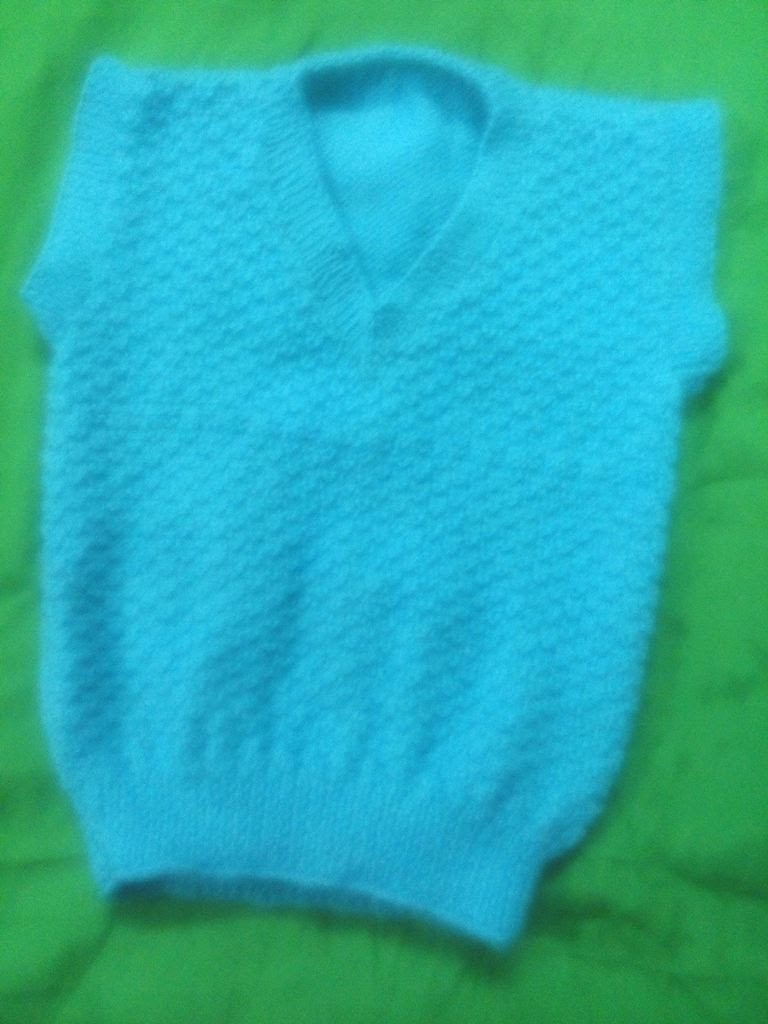 Part 3 - How to make V-Neck half sleeves sweater.  full tutorial step by step In hindi