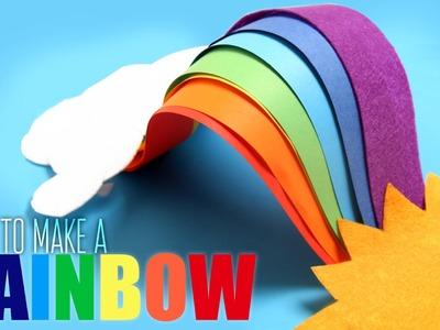 Rainbow | DIY Rainbow  | Learn How To make Rainbow | Kids Art and Craft