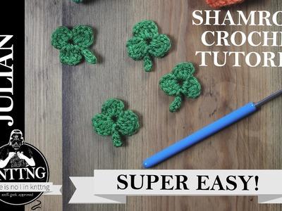 Shamrock crochet tutorial! Super easy for beginner.