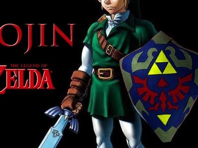 [TUTORIAL] How to make a Zelda Shield Cushion Homemade & Easy | Tierras de Rol