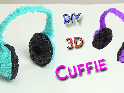 3D Cuffie con la 3D Pen | Headphone 3D Printing Pen Creation  DIY Tutorial
