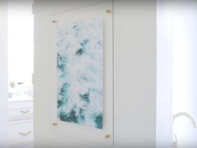 Acrylic Frame DIY