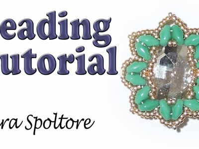 BeadsFriends: beading tutorial - Diy beaded earring - DIY bracelet