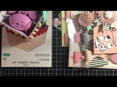 Bows, Flipbooks, and diy embellishments