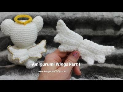 Crochet Angel Wings Part 1
