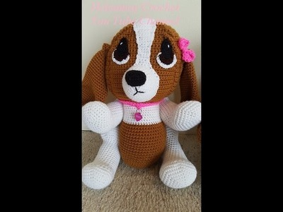 Crochet Hound Dog Part 2 of 2 DIY Tutorial