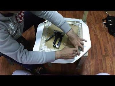 D.I.Y. Chair Cushion Remake Repair