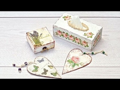 Decoupage - what you need to start  Tutorial --- DIY by Catherine