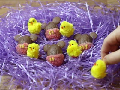 DISNEY How to make Mickey mouse Creme eggs | DIY | KRISPY SMORE