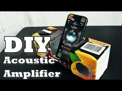 DIY Acoustic Iphone Amplifier (from tetrapak)