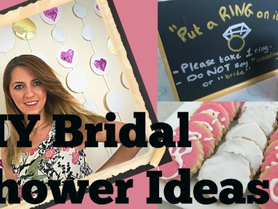DIY Bridal Shower Ideas (Tutorial) | Decorations, Games and Dessert