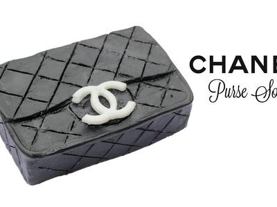 DIY Chanel Purse Soap