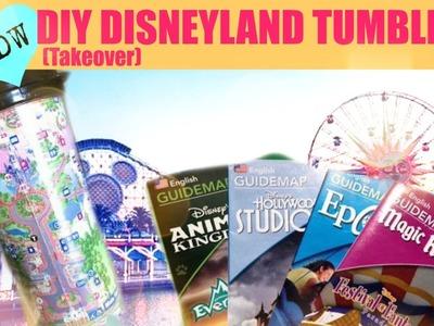 DIY Disneyland Tumblers Under $2 - TAKEOVER