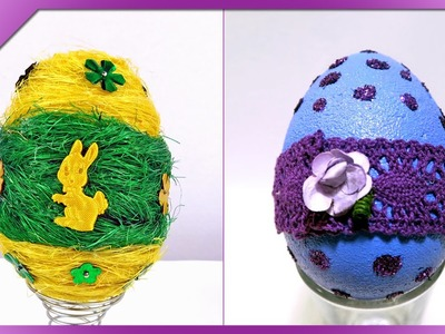 DIY Easter eggs with Claoodia Art (ENG Subtitles) - Speed up #193