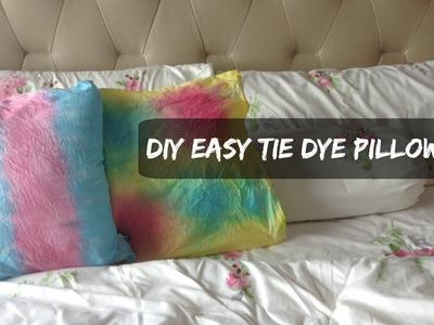 DIY Easy Tie Dye Pillowcases